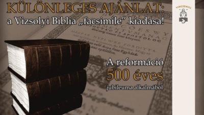 Vizsolyi Biblia facsimile kiadása