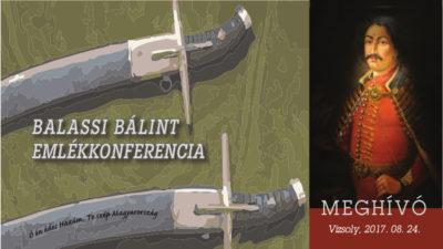 Balassi Bálint Emlékkonferencia, galéria