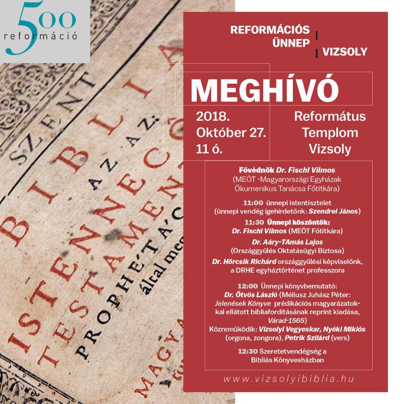 reformáció 500 éves